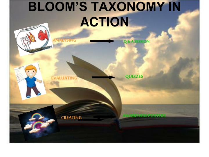 BLOOM'S TAXONOMY IN ACTION