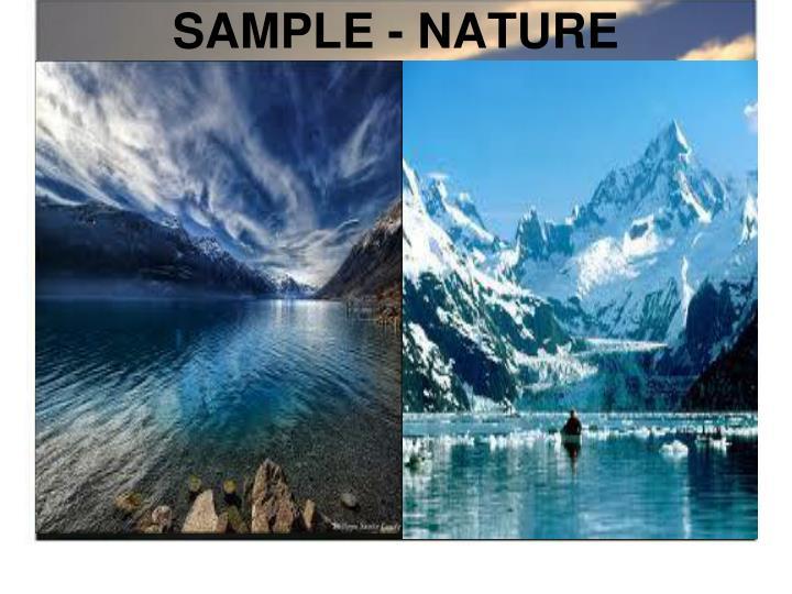 SAMPLE - NATURE