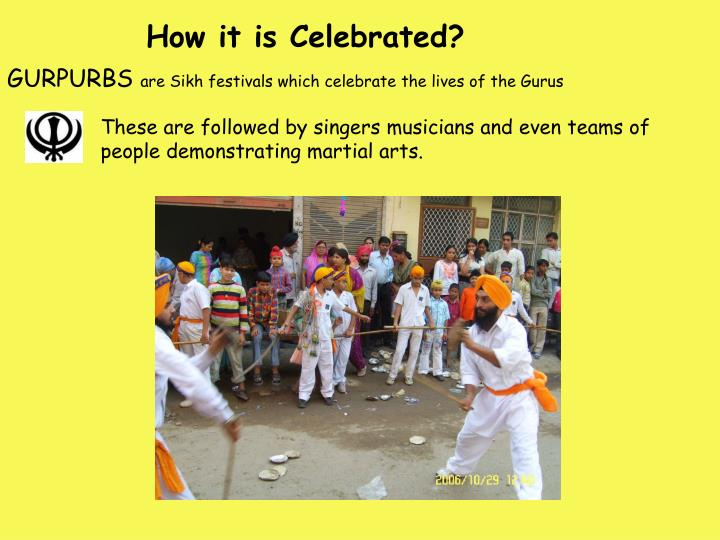 How it is Celebrated?