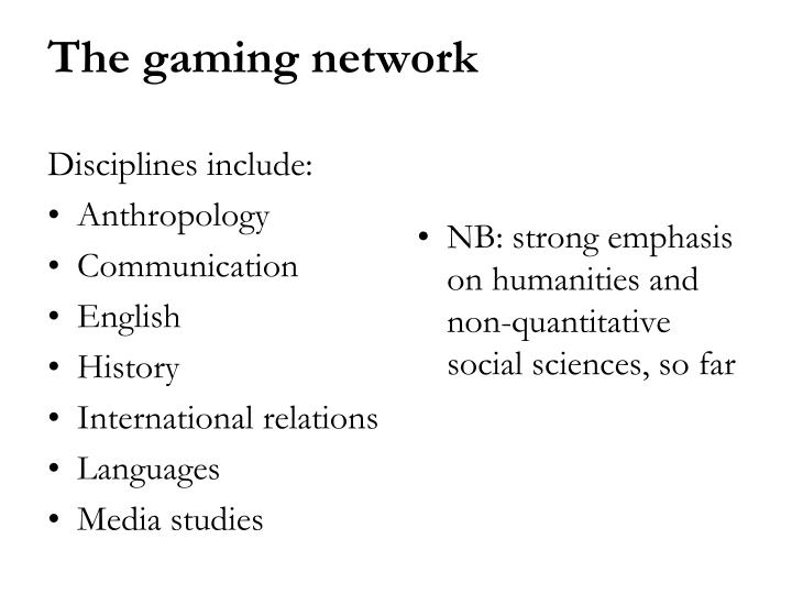 Disciplines include: