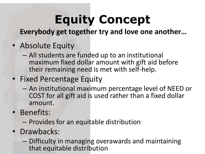 Equity Concept