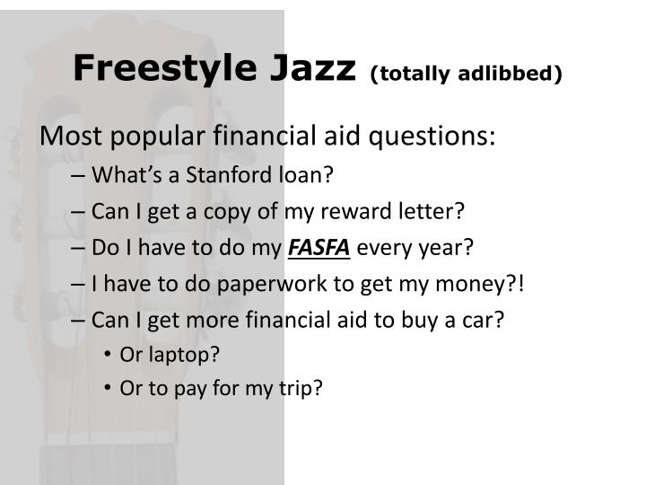 Freestyle Jazz