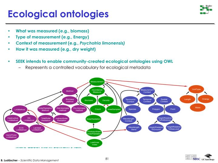 Ecological ontologies