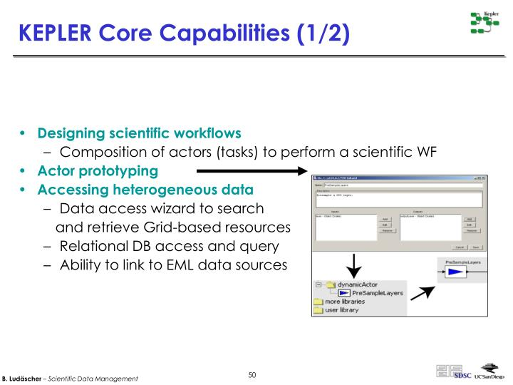 KEPLER Core Capabilities (1/2)