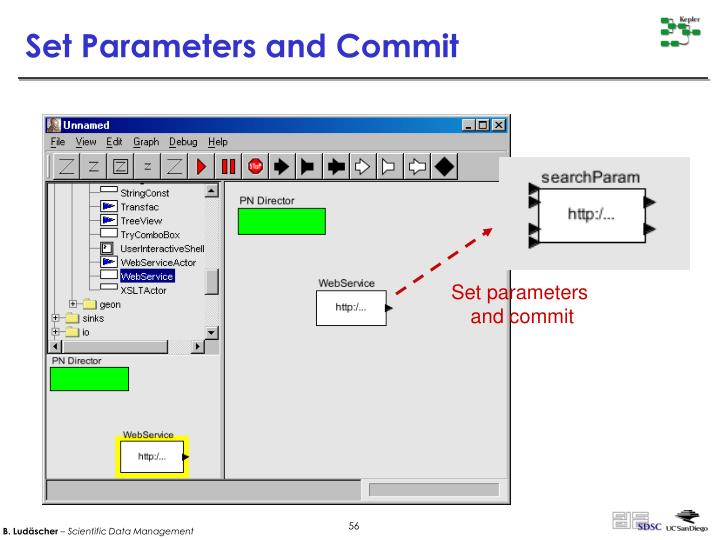 Set Parameters and Commit