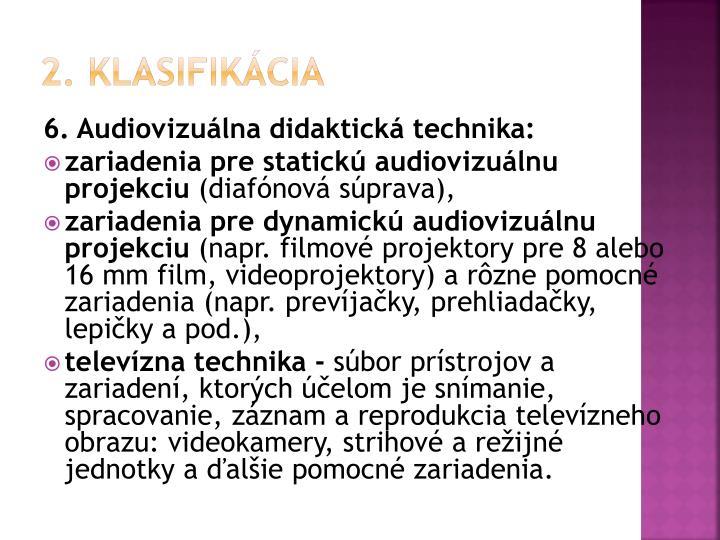 2. klasifikácia
