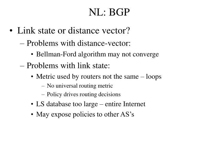 NL: BGP