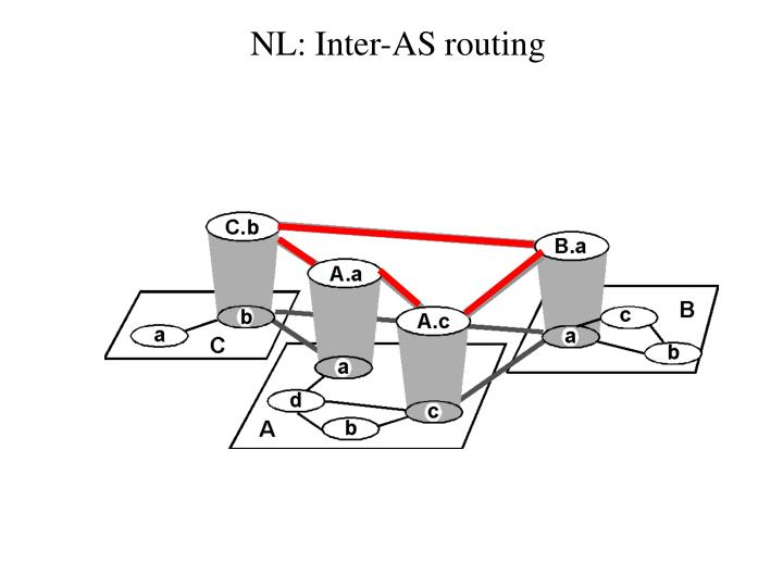NL: Inter-AS routing