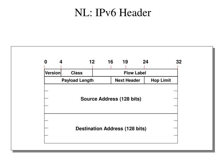 NL: IPv6 Header