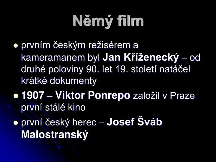 Němý film