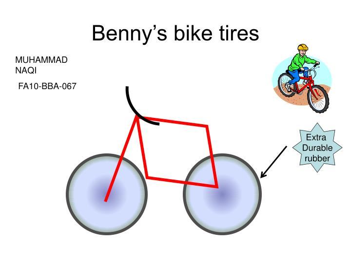 Benny s bike tires