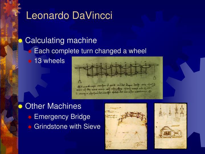 Leonardo DaVincci