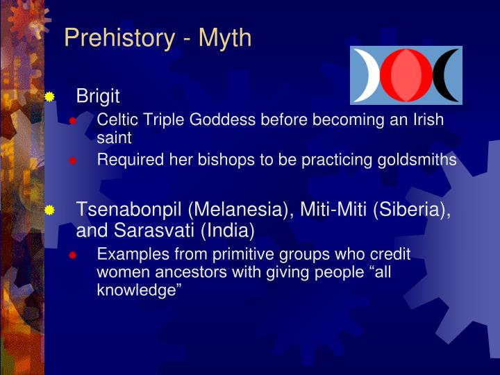 Prehistory - Myth