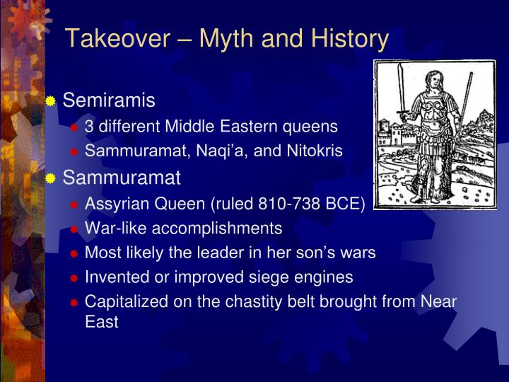 Takeover – Myth and History