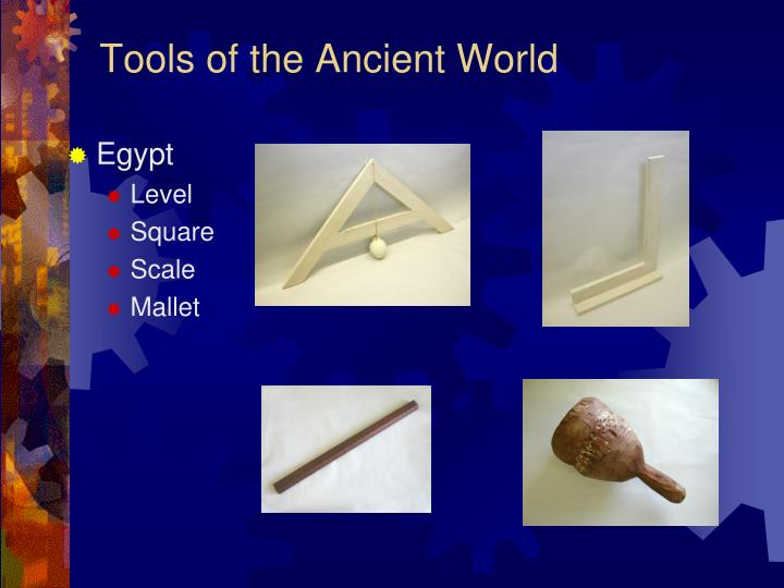 Tools of the Ancient World