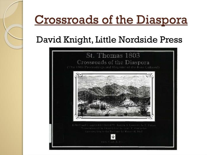 Crossroads of the Diaspora