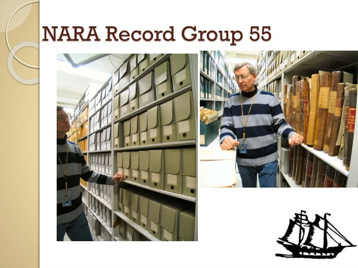 NARA Record Group 55