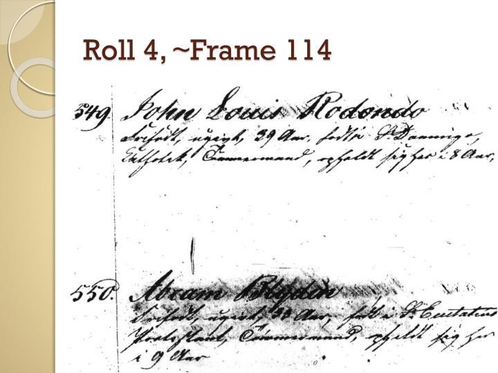 Roll 4, ~Frame 114