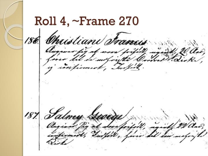Roll 4, ~Frame 270