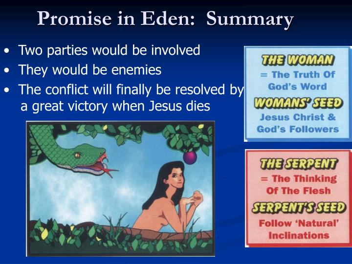 Promise in Eden:  Summary
