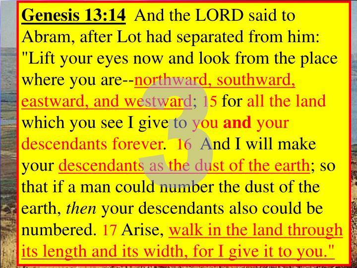 Genesis 13:14
