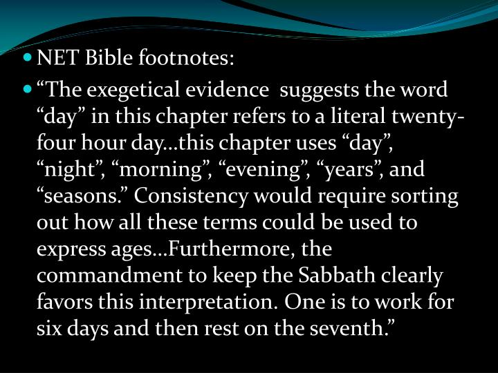 NET Bible footnotes: