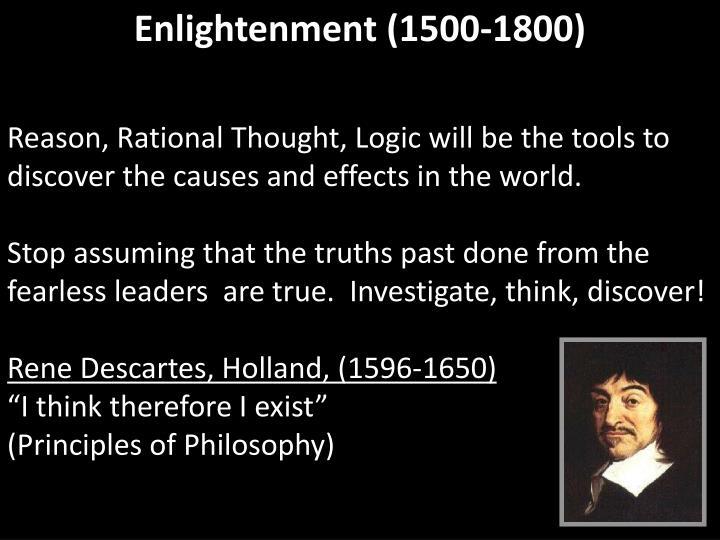 Enlightenment (1500-1800)