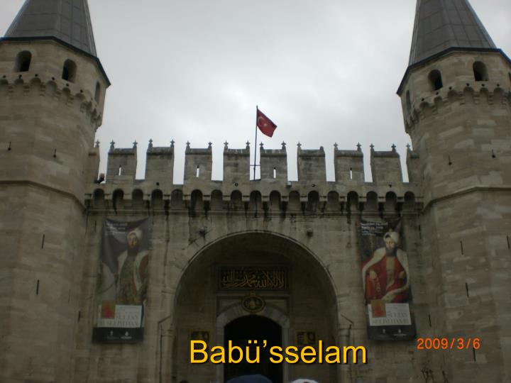 Babü'sselam