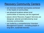 recovery community centers1