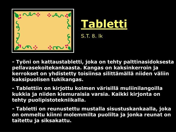 Tabletti
