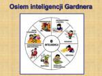 osiem inteligencji gardnera