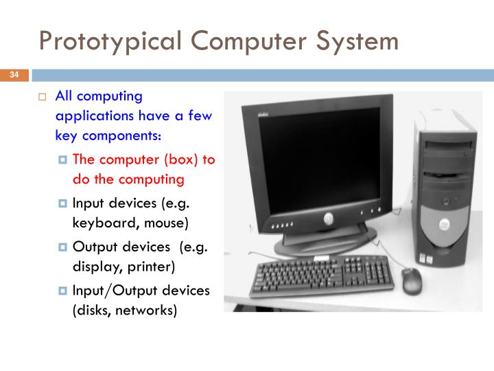 Prototypical Computer System