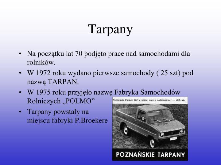 Tarpany