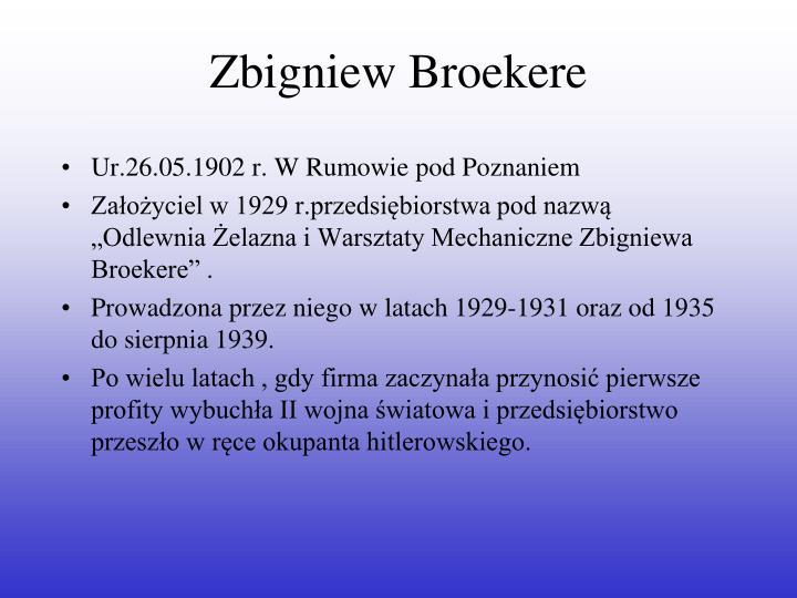 Zbigniew Broekere