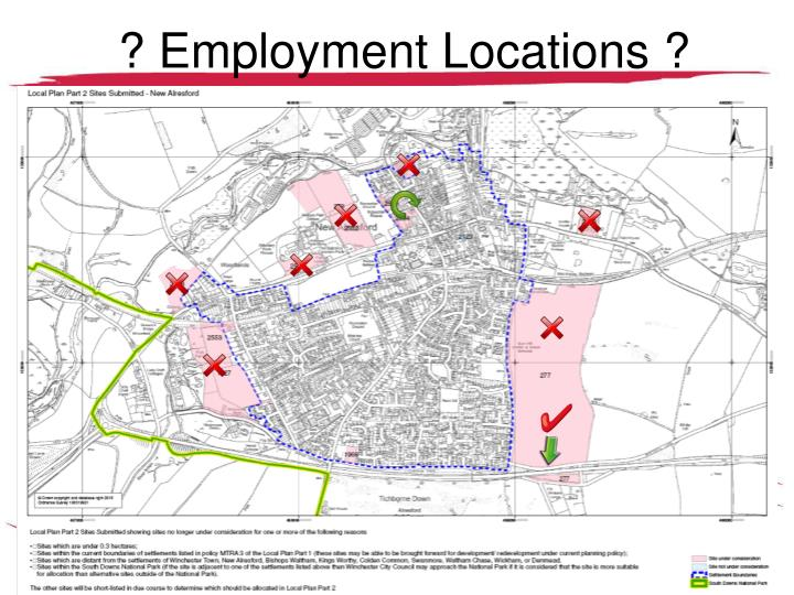 ? Employment Locations ?