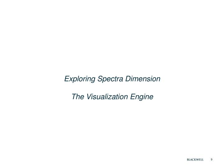 Exploring Spectra Dimension