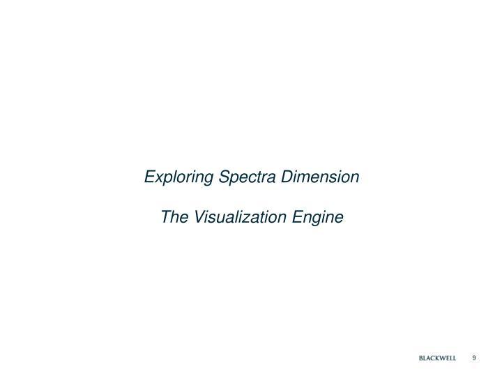 Exploring Spectra Dimension