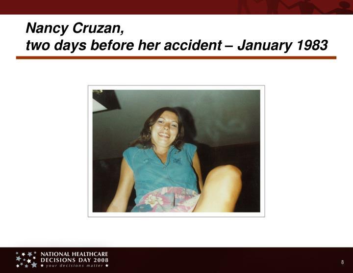 Nancy Cruzan,