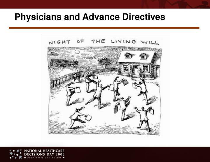 Physicians and Advance Directives