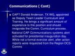communications cont1
