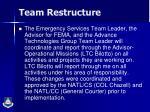 team restructure1