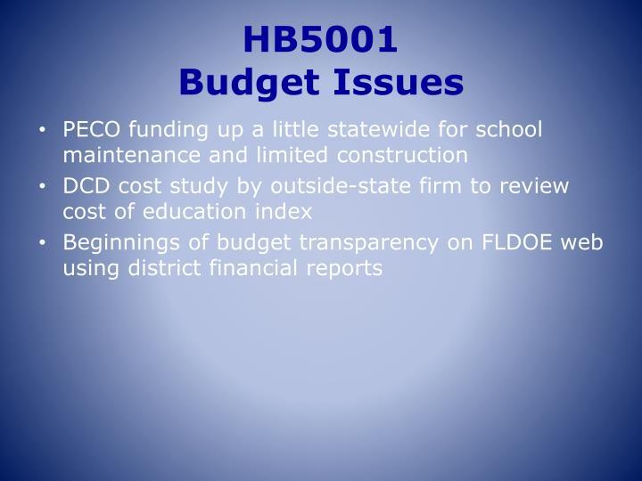 HB5001