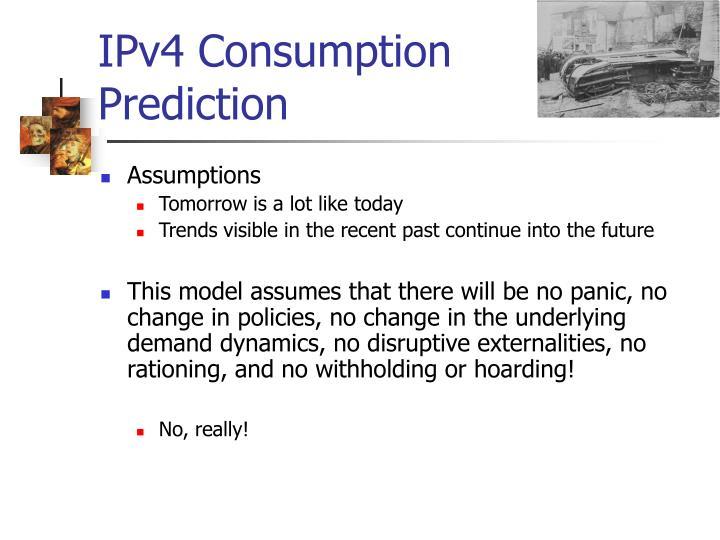 IPv4 Consumption