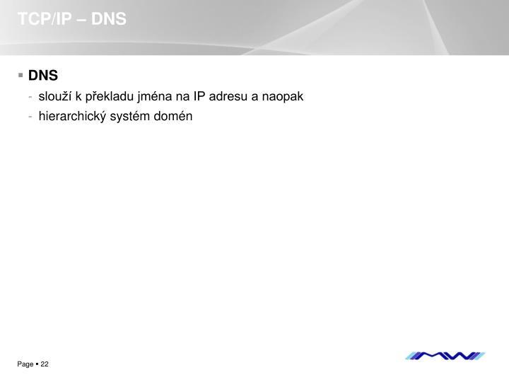TCP/IP – DNS