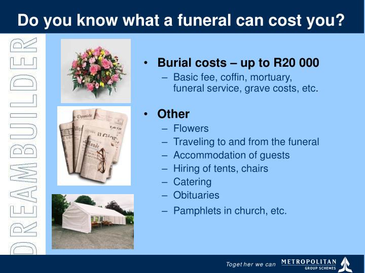 Do you know what a funeral can cost you