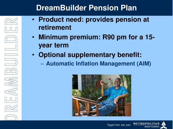 DreamBuilder Pension Plan