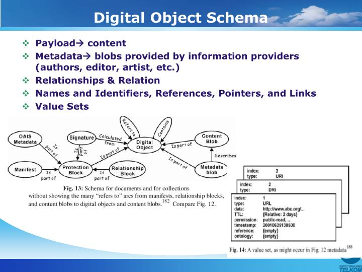 Digital Object Schema