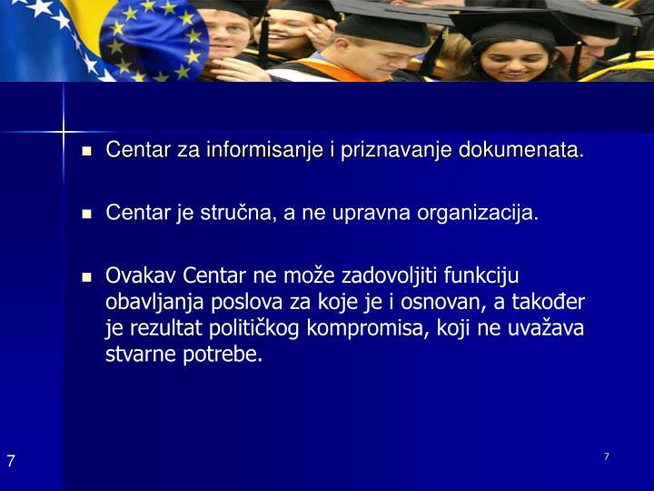 Centar za informi