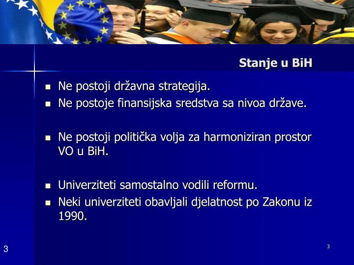 Stanje u BiH