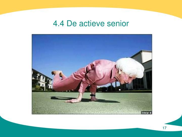 4.4 De actieve senior